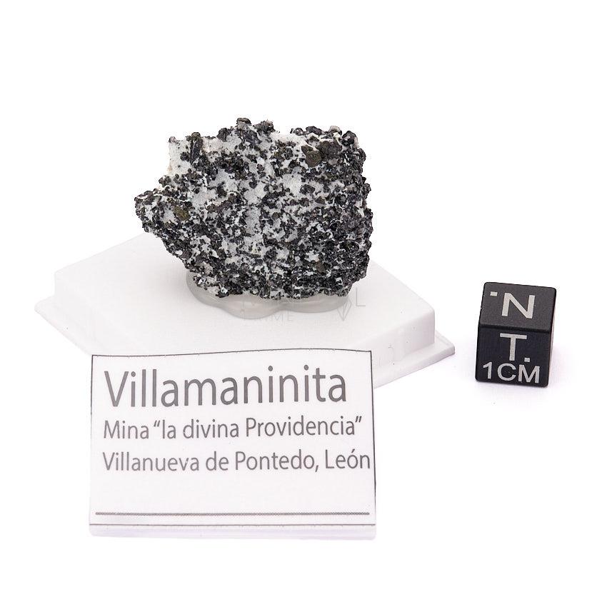 Villamaninita piedra mineral propiedades
